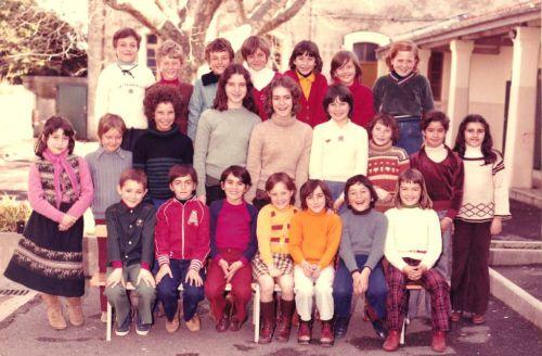 Ecole Marcel Pagnol CE2 en 1978