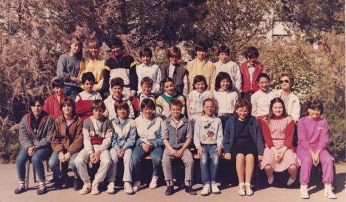 Ecole Les Lavandins 1981