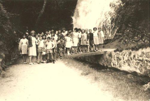 Sortie de classe à St Ferreol en 1974