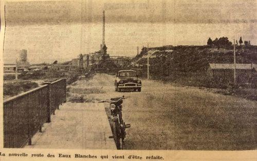 Nouvelle route vers Balaruc 1957