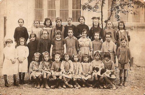 Ecole de La Peyrade en 1918-1919