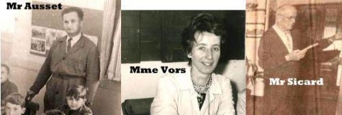 Institutrices et instituteurs de 1950 à 1970