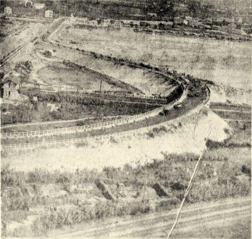 Le pont de chemin de fer en 1937