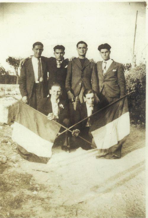 CONSCRITS LA PEYRADOIS EN 1938