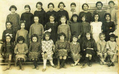 Ecole de La Peyrade vers 1922