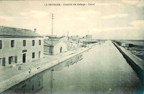 Canal des étangs chemin de halage