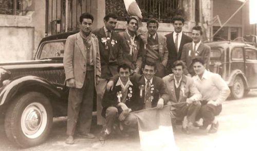 CONSCRITS LA PEYRADOIS EN 1954