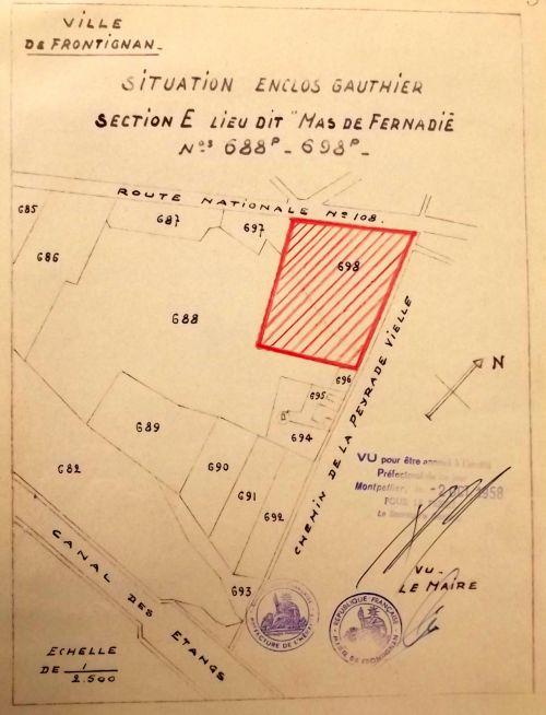 1958 Plan de construction des Baticoop
