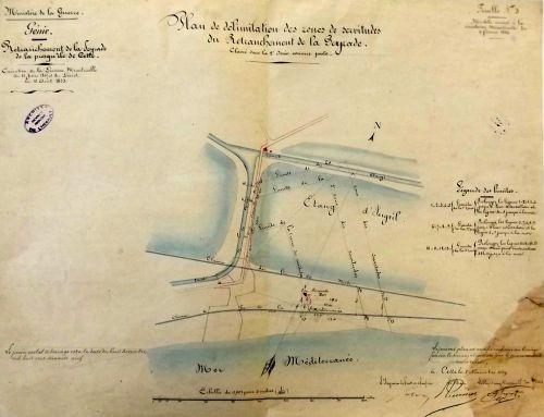 Retranchement de La Peyrade en 1859