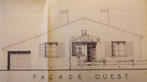 1961 Vues des futures constructions