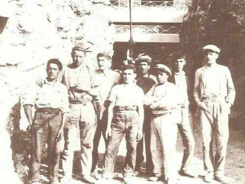 1930 Ouvriers des carrières