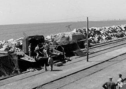 1944 L'embranchement de La Peyrade