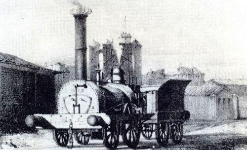 1839 Première locomotive