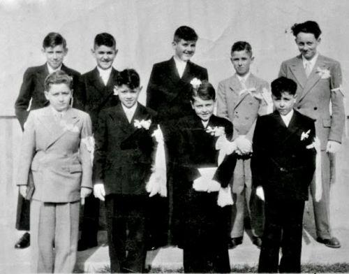 1951 Communion La Peyradoise