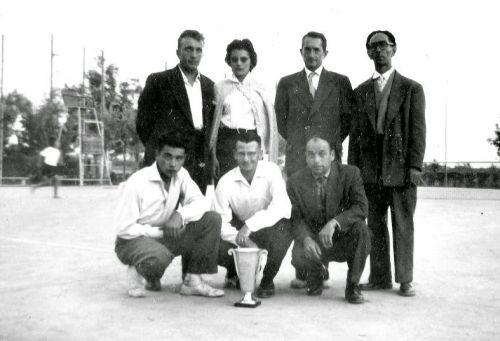 1958 Tournoi de tennis La Peyradois