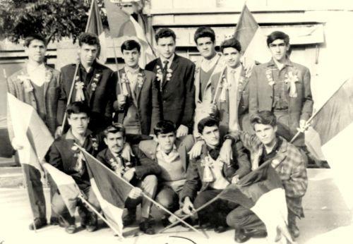 1964 Conscrits La Peyradois
