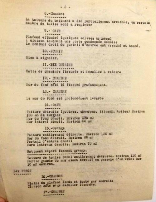 1946 Sinistre de la propriété Sezary