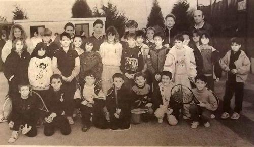 1990 Jeunesse au tennis