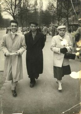 1956 Sortie Parisienne de la famille Guagliano
