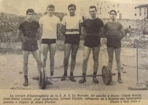 1965 Haltérophilie La Peyradoise