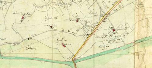 1807 Plan de La Peyrade