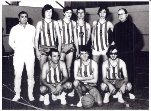 Années 1970 Basket La Peyradois