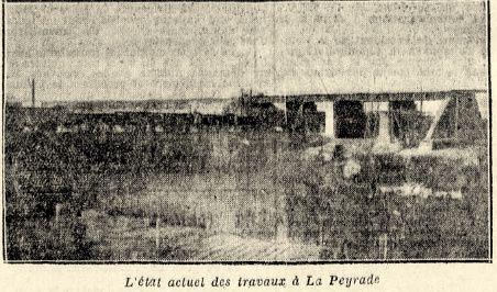 1931 Le pont de chemin de fer