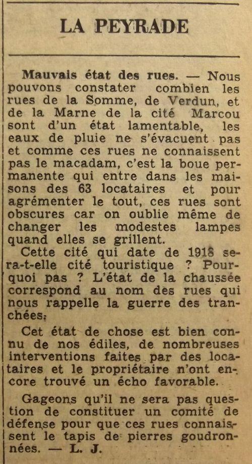 1963 Cité Marcou