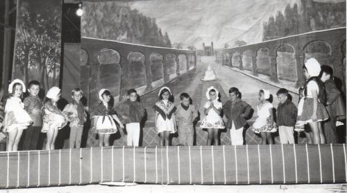 1966 Fête de l'école maternelle