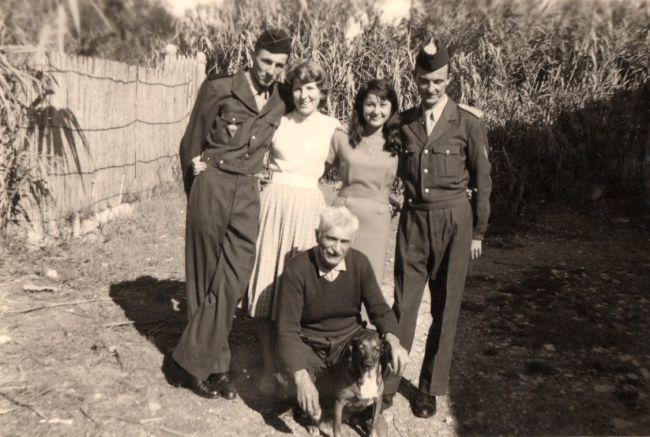 1958 La Peyradois à l'armée