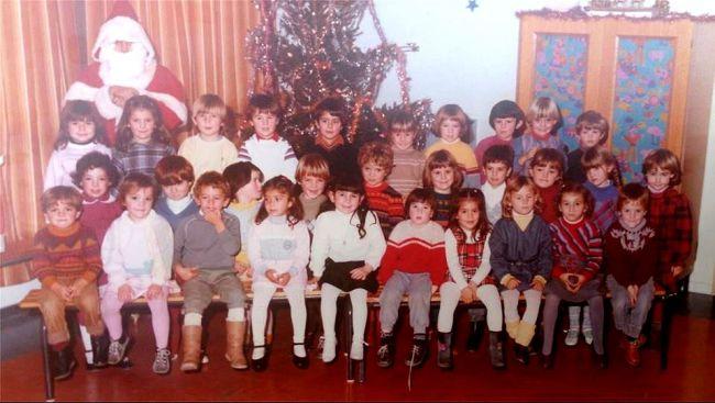 1982 Noel école des Lavandins