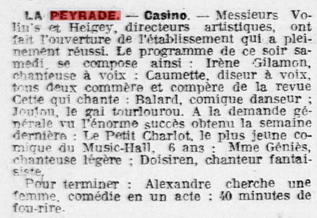1920 Le Casino