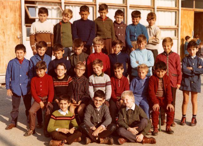 Ecole de La Peyrade 1969