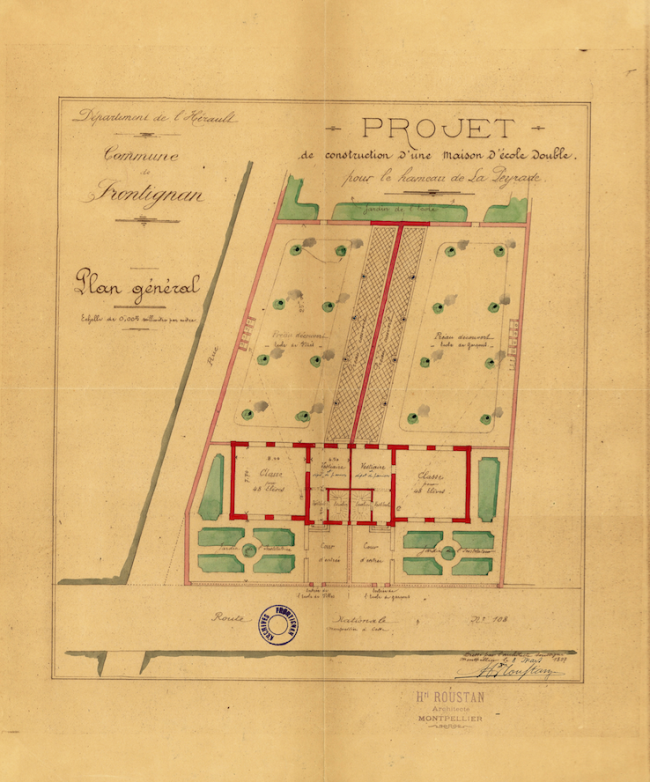 1897 école de La Peyrade