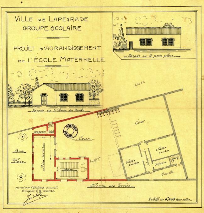 1926 Ecole de La Peyrade