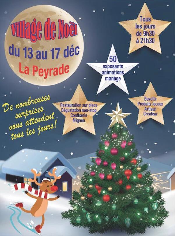 M&rché de Noël La Peyradois