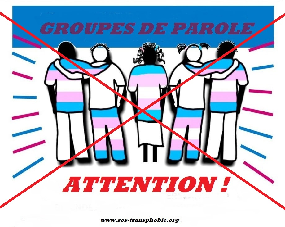 Attention Groupes de Parole Trans