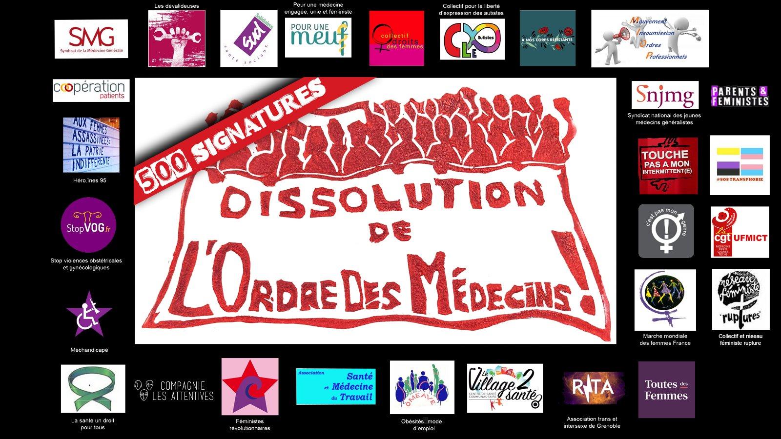 #DissolutionOrdreDesMedecins
