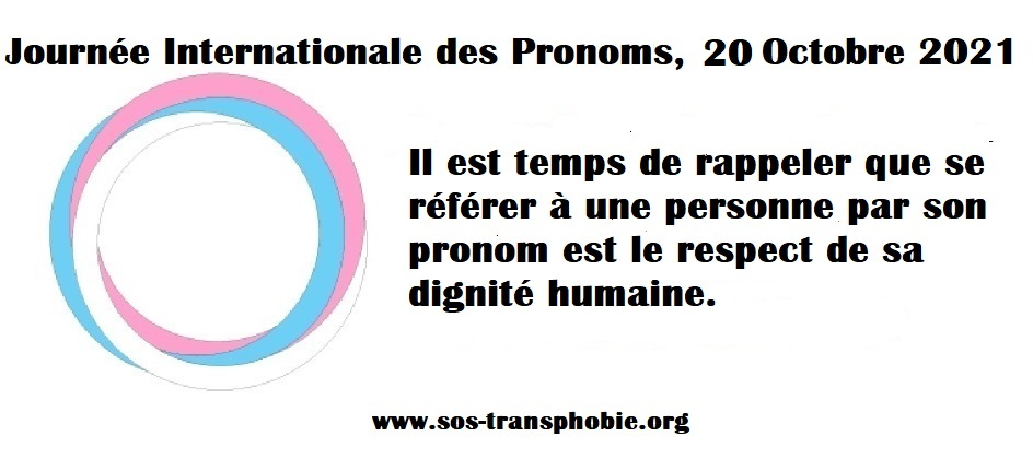 Journée International des pronoms