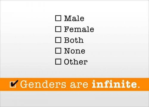 Les Genres sont Infinis / Genders are Infinite