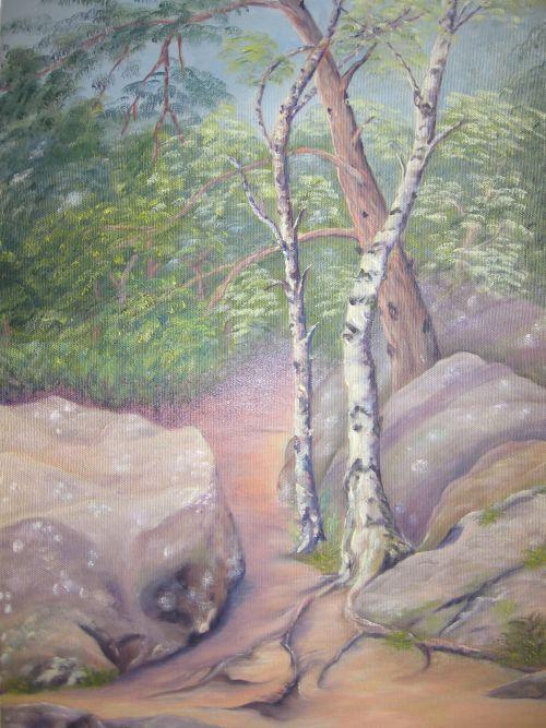 En forêt de Barbizon