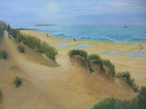 Octobre dans les dunes