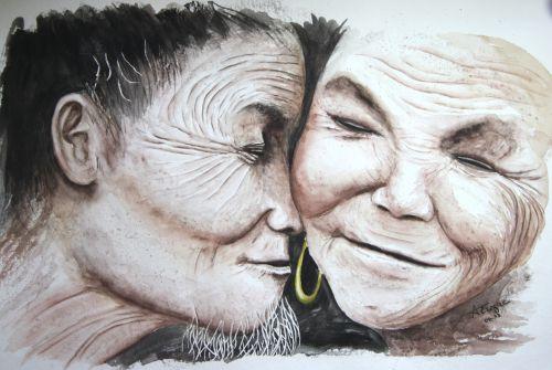 Le vieux couple