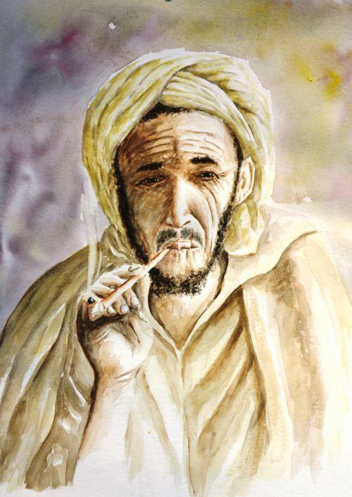 Le fumeur marocain