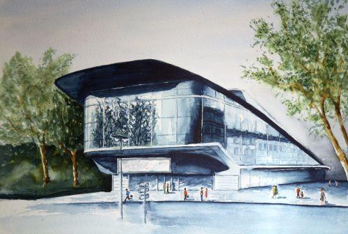 Palais des congrés Le Vinci à Tours