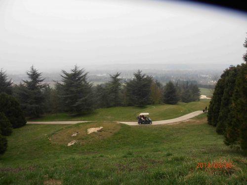Vue panoramique par temps gris