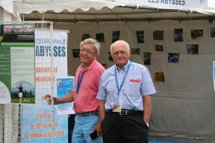 Gérard et Pierre au Forum de Rueil - Sept 2016