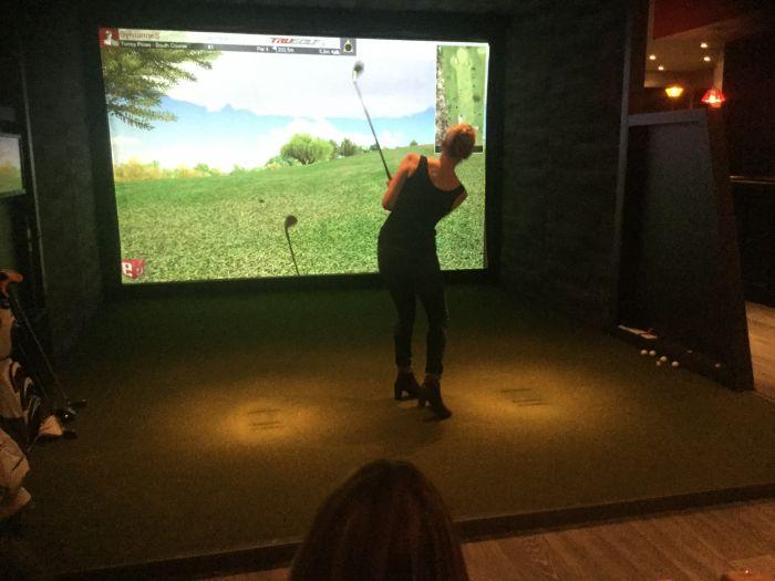 Soirée Simulateur de golf à Golf en ville Vendredi 18/11/2016 - SCRAMBLE A 4