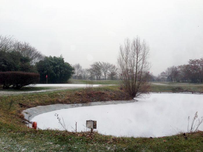 Golf de Rueil sous la neige janvier 17