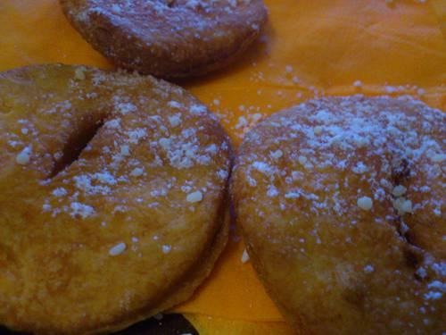 dessert chiklien sopaipillas( beignets de potiron).JPG